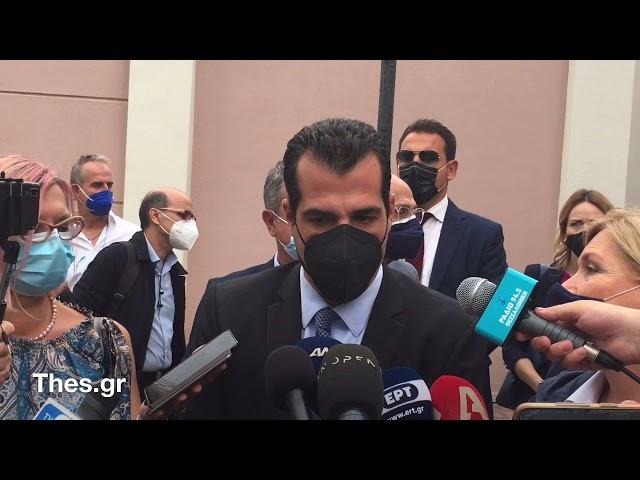 Ο Θάνος Πλεύρης για τα μέτρα στην Θεσσαλονίκη και την πανδημία