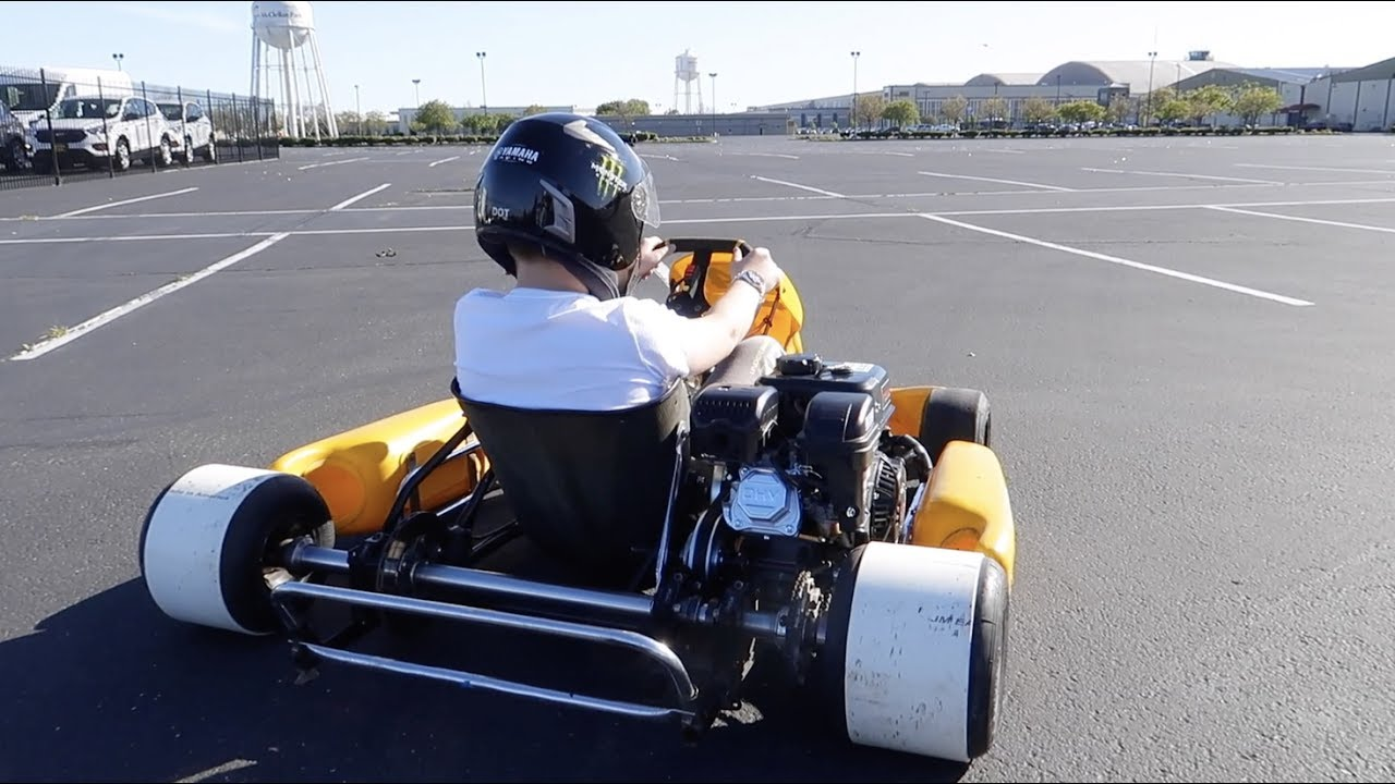 Go Kart Drifting And Donuts 360 Youtube