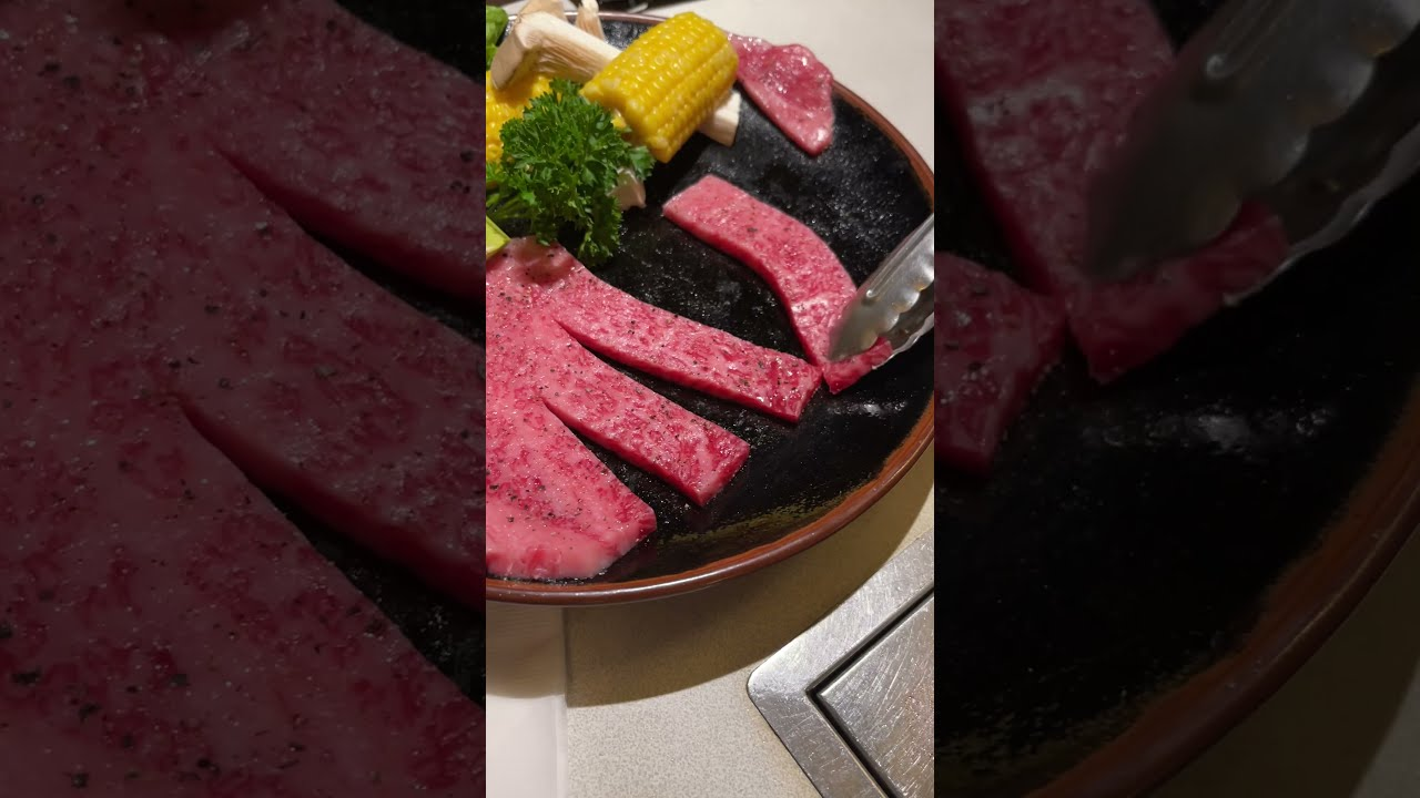 First time getting wagyu at a restaurant