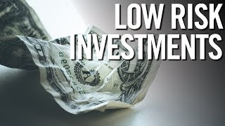 LOWEST RISK INVESTMENTS! 📈 Top 5 Low Risk Investment Strategies