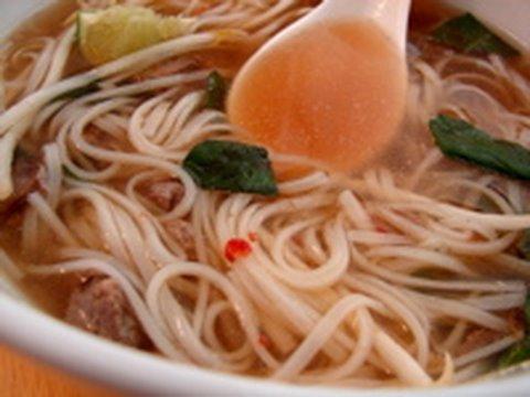 Faux Pho -  Spicy Vietnamese Beef Noodle Soup