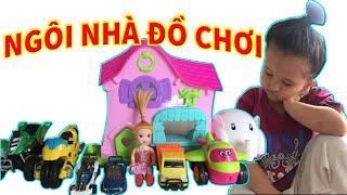 Trò Chơi Bé Vui Câu Chuyện Đồ Chơi Ngôi Nhà Búp Bê Đầy Siêu Xe | Kids Toys Babie House | YoYo TV