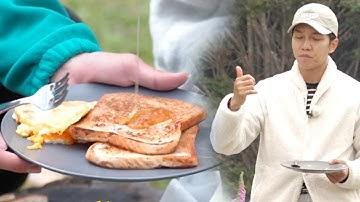 이승기, 인생 띵맛 '마누카 꿀 토스트'에 말잇못♥ @집사부일체 98회 20191215