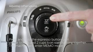 필립스 원두 커피 ☕ 머신 사용법