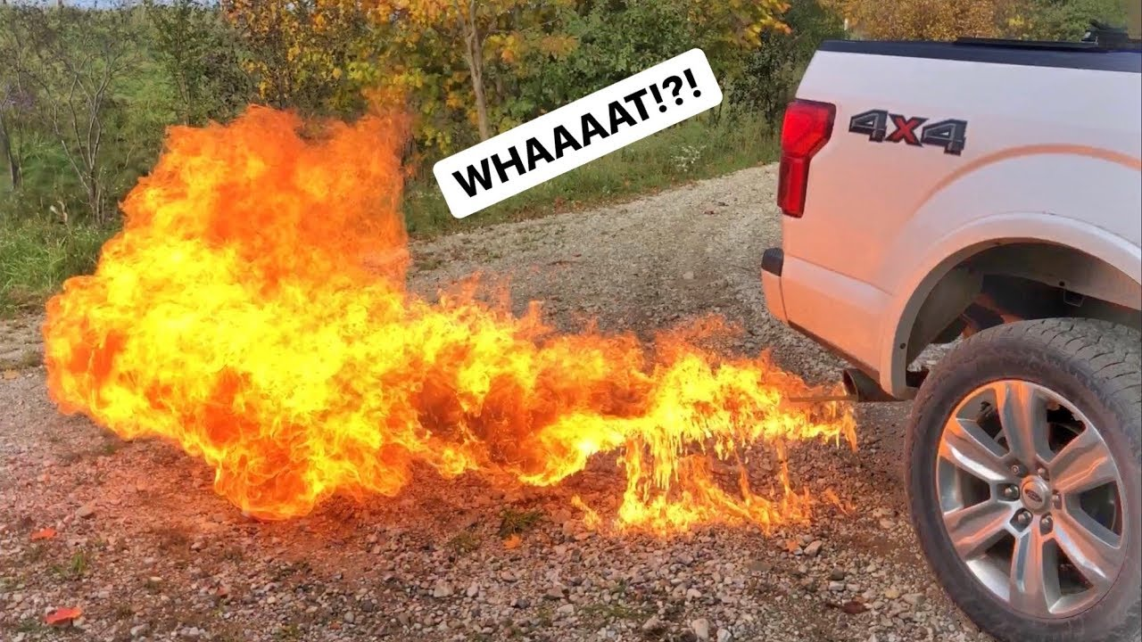 Ford F150 EcoBoost Exhaust FIRE RECALL!