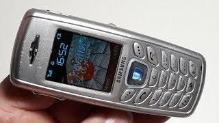 Samsung X120 Ремонт Восстановление Реставрация Ревизия ретро телефона русская прошивка