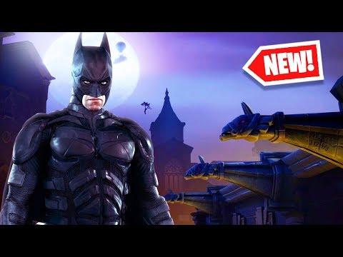 *NEW* FORTNITE X BATMAN ITEMS! *Free Rewards*
