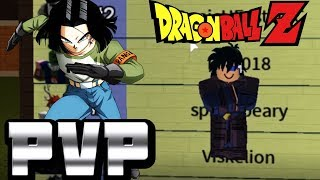 Level 50 ANDROID Enters The World Tournament | ROBLOX Dragon Ball Z Final Stand Ranked Matches