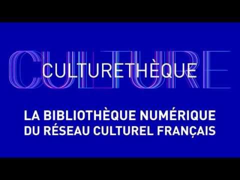Culturethèque, votre bibliothèque numérique