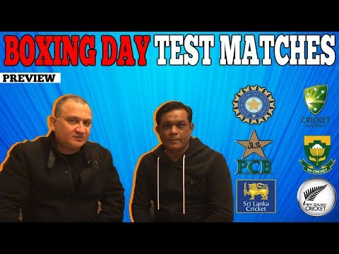 BOXING DAY Test Matches | Preview | Caught Behind