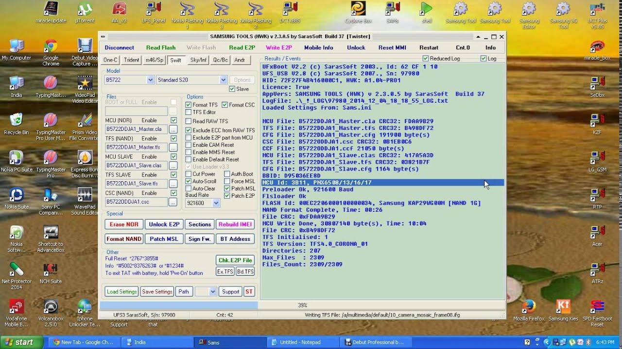 Samsung B5722 Firmware Videos - Waoweo