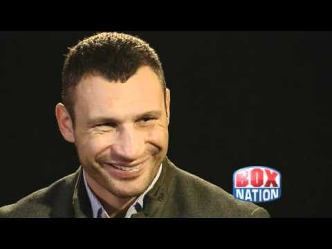 Klitschko interviewed by Jim Rosenthal for BoxNation
