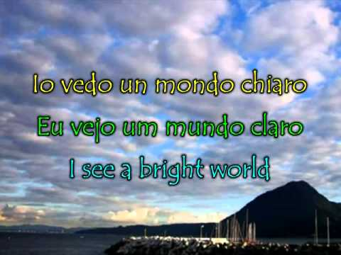 Nella Fantasia - Enio Morricone - Sarah Brightman (legendado: Italiano, Português, English)