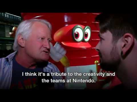 E3 2017  Hands on with Super Mario Odyssey   BBC News