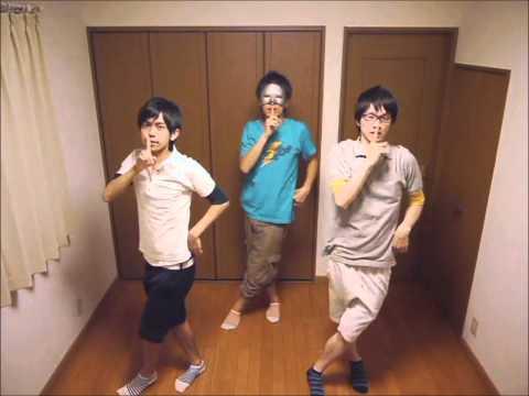【反転】 男3人で Perfume spending all my time を踊ってみた 【練習用】