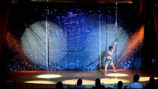 Снопова Юлия -- 3rd Place Miss Pole Dance Russia 2012 Final (Snopova Juliya, artistic)