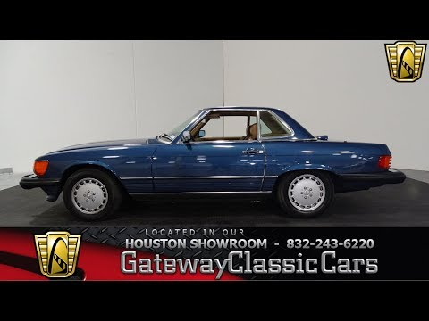 1986 Mercedes Benz 560SL Gateway Classic Cars #1009 Houston Showroom