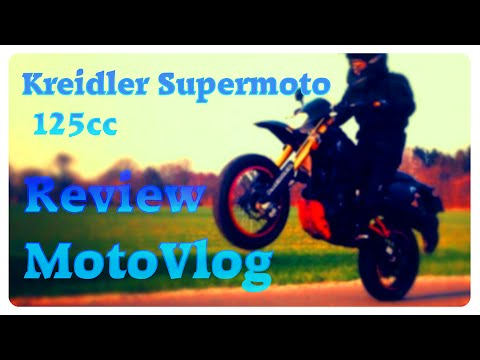 kreidler supermoto 125 motovlog review youtube. Black Bedroom Furniture Sets. Home Design Ideas