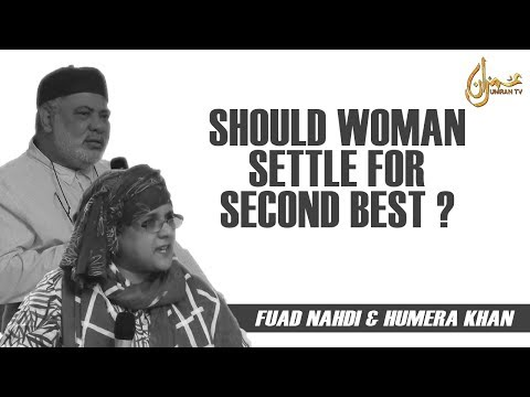 Should Woman Settle For Second Best ?