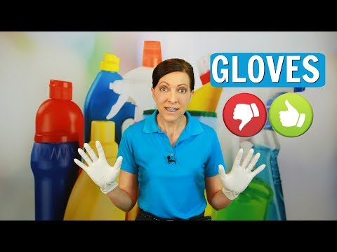 Gloves for House Cleaning - What's the Big Deal? ⭐⭐⭐⭐⭐