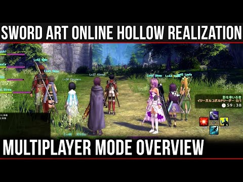 Multiplayer Mode Overview - Sword Art Online: Hollow Realization