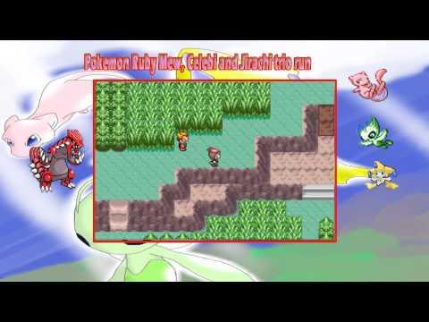 Pokemon Ruby Mew, Celebi and Jirachi trio run: Saving the weather from Magma