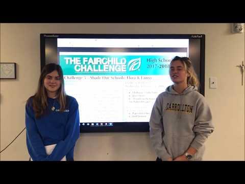 Carrollton School of the Sacred Heart - Fairchild Challenge 5 (HS): Lizards on the Loose - 2017-2018