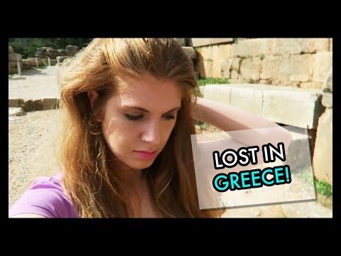 I Got Lost In Greece!