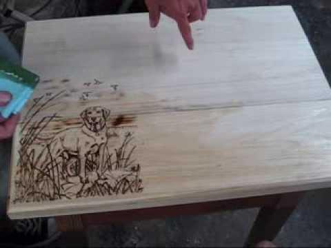 weller wood burning kit how to change tips