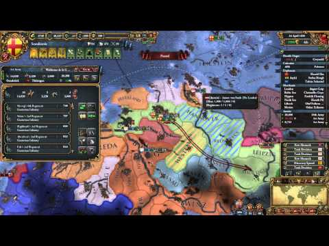 Europa Universalis 4 - Denmark, Part 59 (I am bursting with energy during this war.)