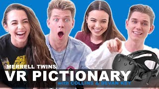 Virtual Reality Pictionary - Merrell Twins w/ Collins Key & Devan Key