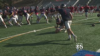 New Raiders Kicker Gives Back To Hometown School In East Bay
