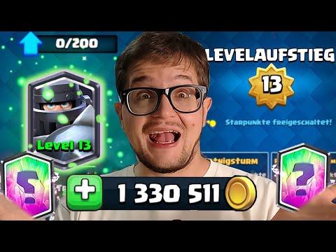 5 JAHRE ULTRA PAY2WIN 💰 1 MILLION GOLD für Level 13? 🤑 | Clash Royale Deutsch