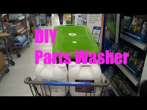 DIY Parts Washer