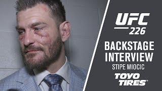 UFC 226: Stipe Miocic 'Hats Off To DC'