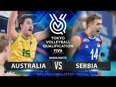 Australia Vs Serbia | Highlights Men's OQT 2019