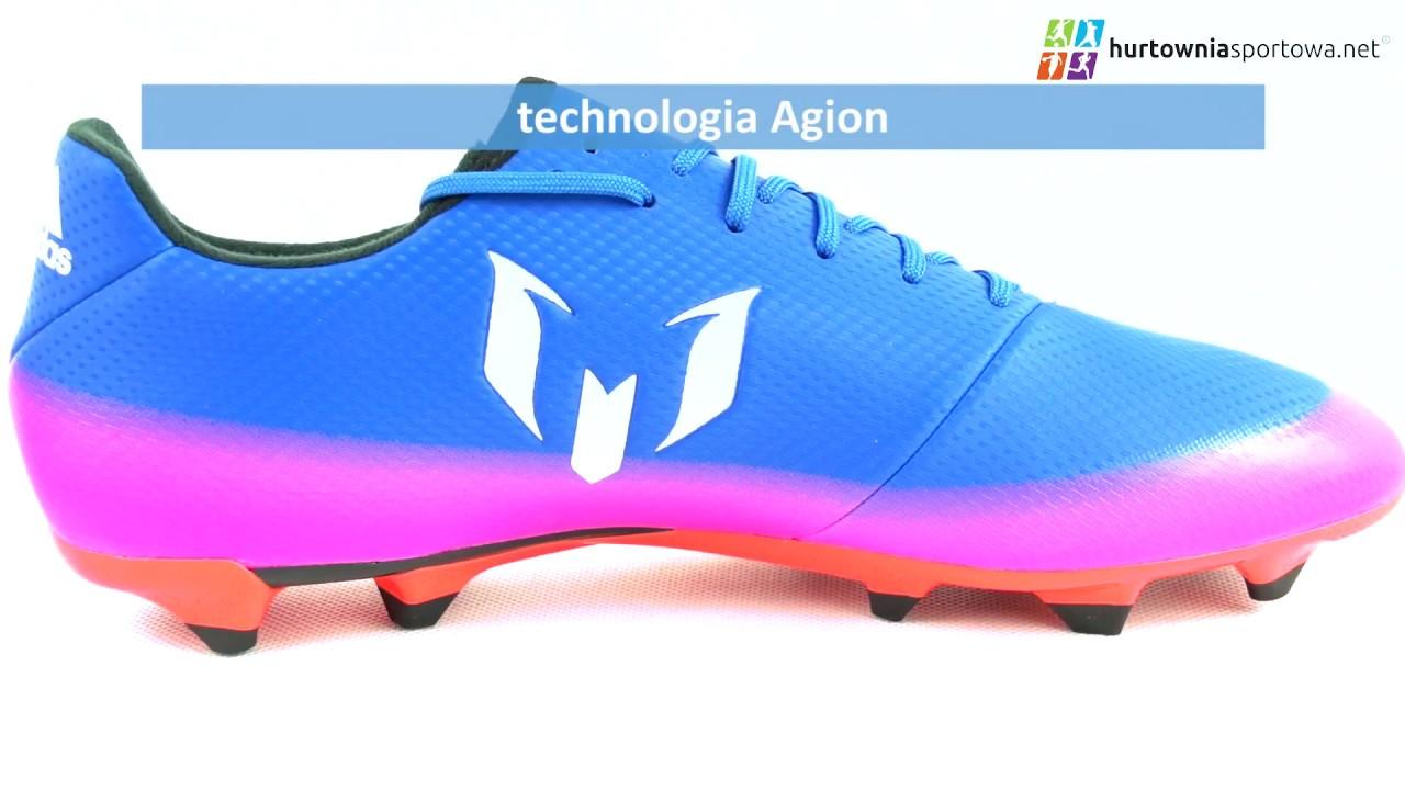 Buty Pilkarskie Adidas Messi   Fg M Ba