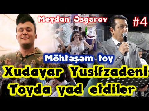Xudayar Yusifzadeni Masalli Toyunda Yad Etdiler  Mohtesem Toy