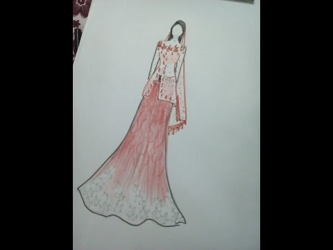 Drawing Of Indian Dresses