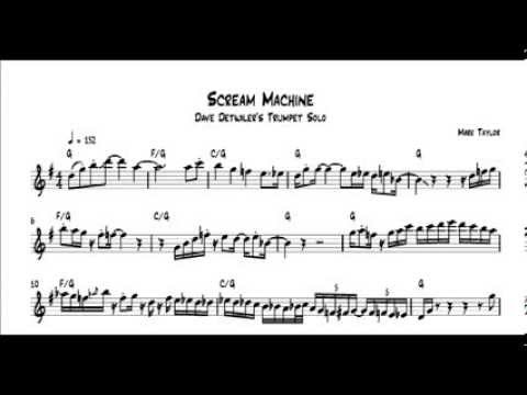 Dave Detwiler - Scream Machine Trumpet Solo