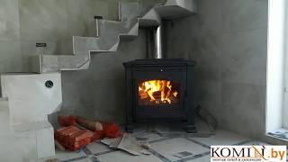 Plamen Tena-печь для дома. Обзор,первый запуск, тест регулировок подачи воздуха в камеру сгорания