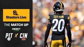 Steelers Live The Match Up (Sept. 23): Week 3 vs Cincinnati Bengals | Pittsburgh Steelers