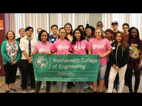 Engaging Industry Early On - Washkewicz College of Engineering at Cleveland State University
