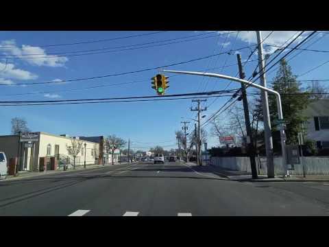 Driving by Baldwin in Nassau,New York