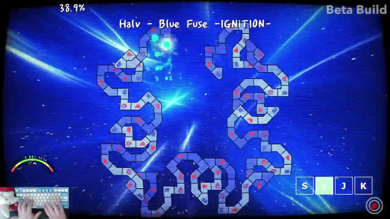 [ADOFAI custom]완전 재밌는맵     (Halv - Blue Fuse -IGNiTION-)(map by 성훈)