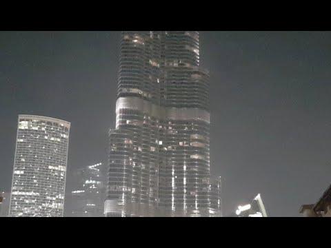 Dubai: Burj Khalifa displays Mahatma Gandhi
