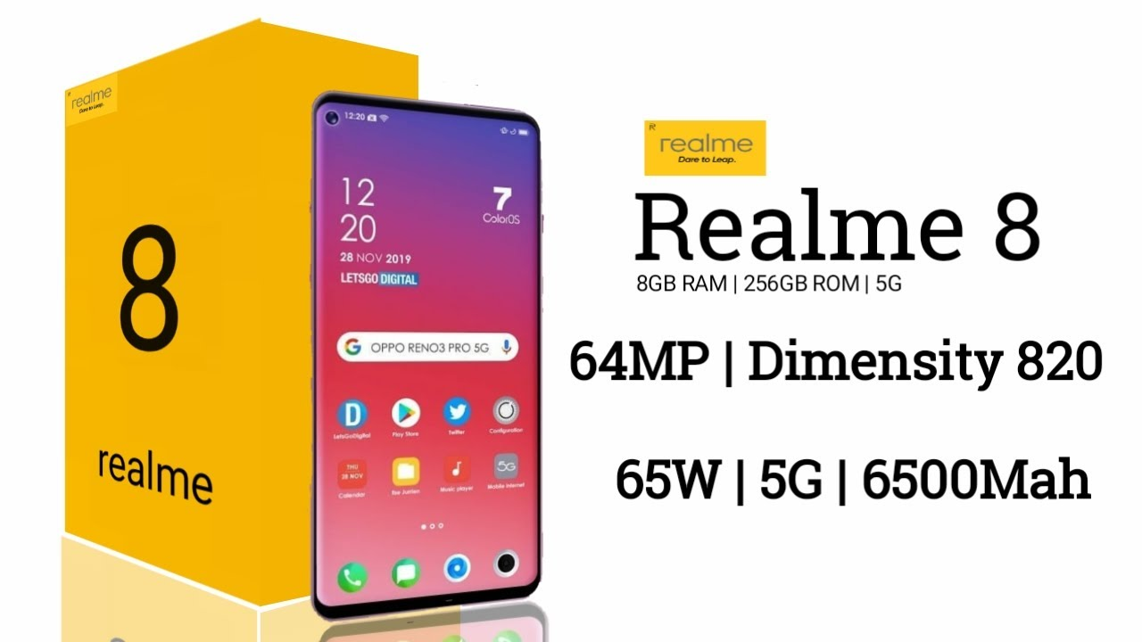 Realme 8 - Box & First Look, Price in India, Specifications, Launch Date In India | Realme India