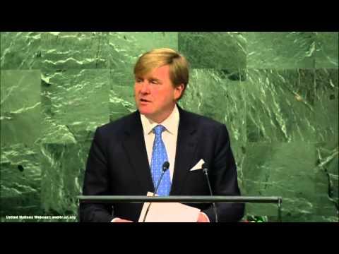 UN Speech Netherlands King Willem-Alexander