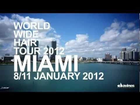 Davines World Wide Hair Tour 2012 - Miami