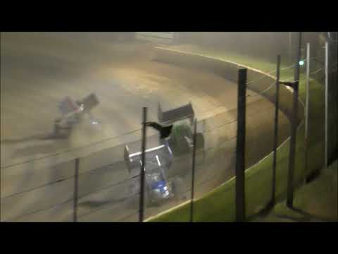 Ohio Valley Sprint Car Association B-Main from Atomic Speedway, July 13th, 2019.